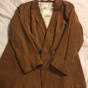 Brown blazer from H&M